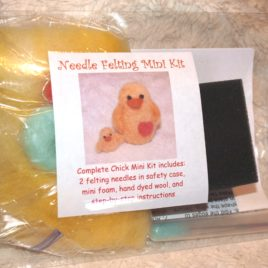 Needle Felting Mini Kit- Chick