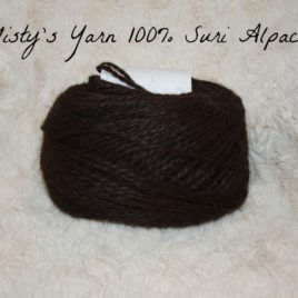 Misty's Naturally Black Millspun Yarn
