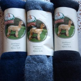Men's Outdoor Alpaca Socks 3 Pair Gift Set