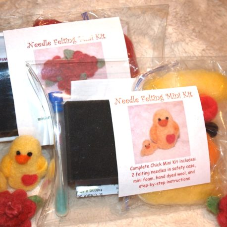 Chick and flower kits