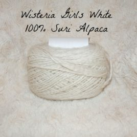 White Millspun Yarn from Our Herd