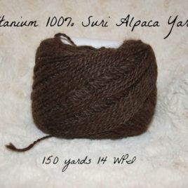Titanuim's Dark Gray Millspun Yarn