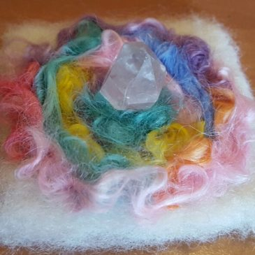 How to Create Magical Crystal Felts