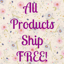 Free Shipping on All Products US Only