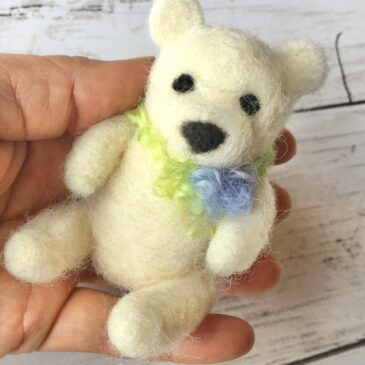 Needle Felt Bear Video Tutorial