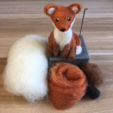 Needle Felted Fox Tutorial