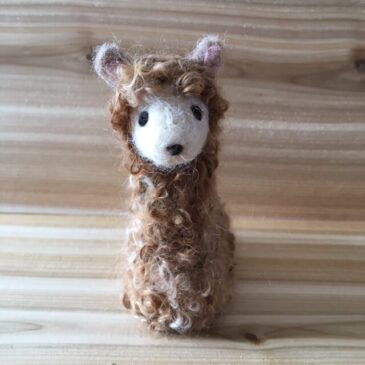Needle Felted Alpaca Tutorial