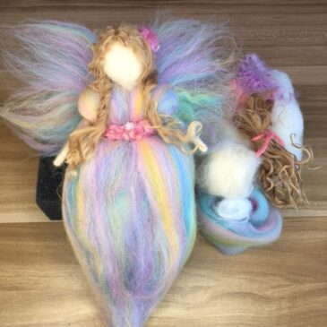 Needle Felted Angel Tutorial