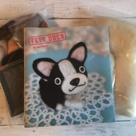 Needle Felting Dog Kit with Book