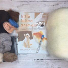 Ultimate Needle Felting Animal Kit with Book